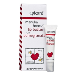 Manuka Honey with Pomegranate Lip Butter