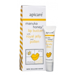 Manuka Honey with Royal Jelly & Pollen Lip Butter
