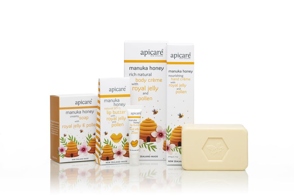 <strong>Manuka Honey with Royal Jelly &amp; Pollen</strong><br/>4 products