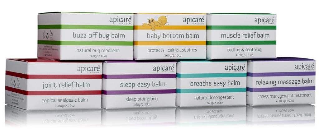 <strong>Therapeutic Beeswax Balms</strong><br/>6 products
